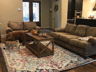 Faux Leather Couch And Sofa Barely Used for Sale in Driftwood,  TX