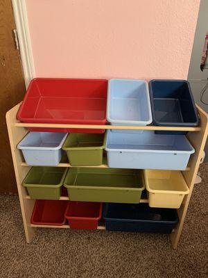 Toy storage bin organizer for Sale in Fort Worth, TX