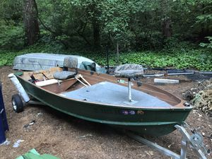 12ft fishing boat and trailer only for Sale in Felton, CA