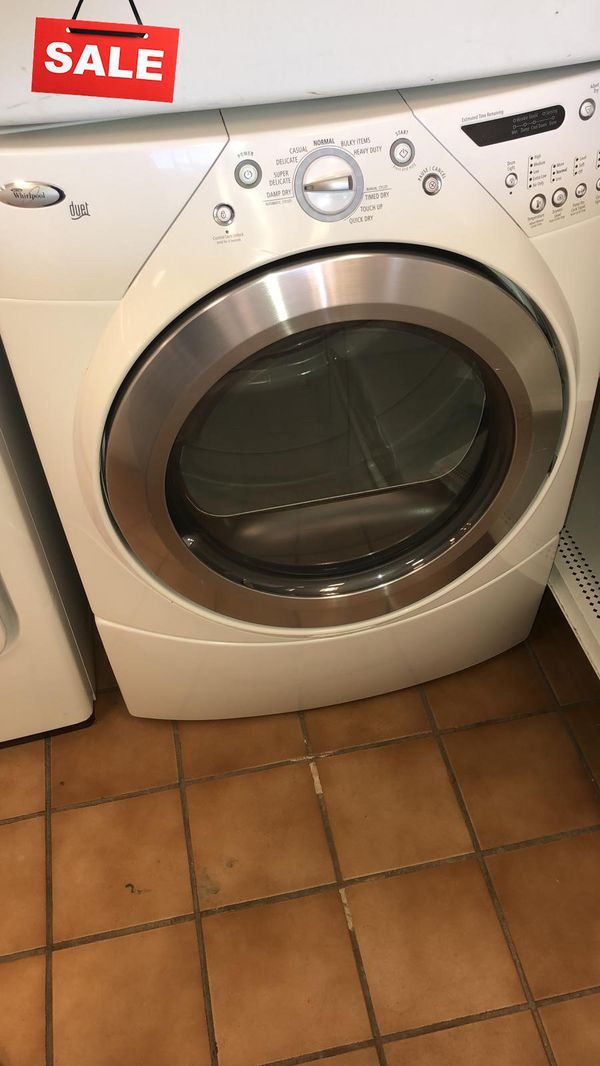 FIRST COME!!Large Capacity Electric Dryer Whirlpool CONTACT TODAY! #1509