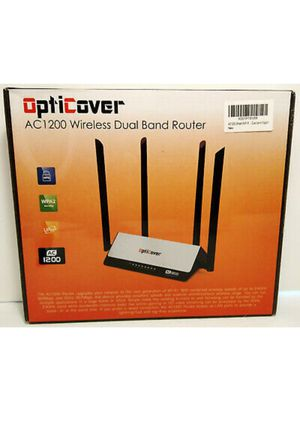 Ac1200 Wireless dual brand router for Sale in Irving, TX