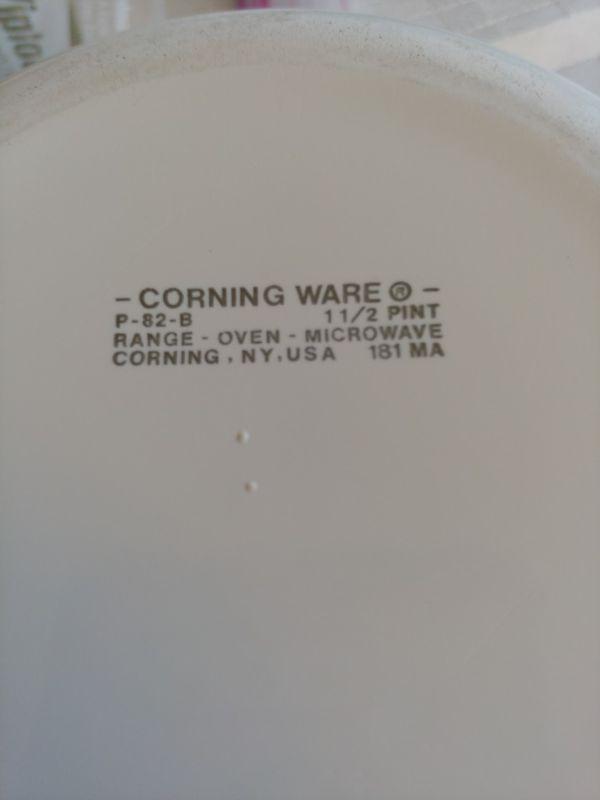 Corning ware small casserole dish