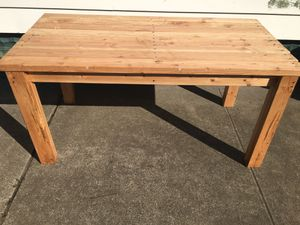 Handmade patio table for Sale in Brooklyn, NY