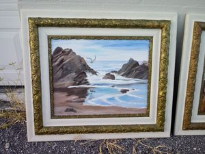 Original Paintings in Antique Matching Frames for Sale in Largo, FL