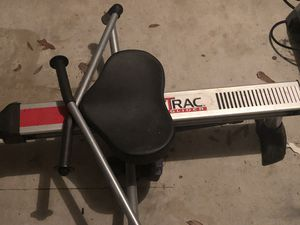 Stamina body trac Glider (exercise equipment) A rowing machine that targets legs, arms, and back. Also, there is the weslo stationary bike. Asking p for Sale in Spring, TX