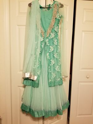 Frozen Elsa Indian Pakistani Long Dress for Sale in Sanford, FL