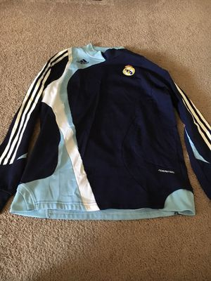e3e6a0b3e4c08 Adidas soccer fifa Real Madrid training pullover top for Sale in Alexandria