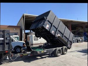 2018 Big Tex 16 LX Dump Trailer in excellent condition for Sale in Chula Vista, CA