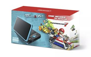 Nintendo 2DS XL turquoise and black with Mario Kart 7 pre installed for Sale in Lafayette, LA