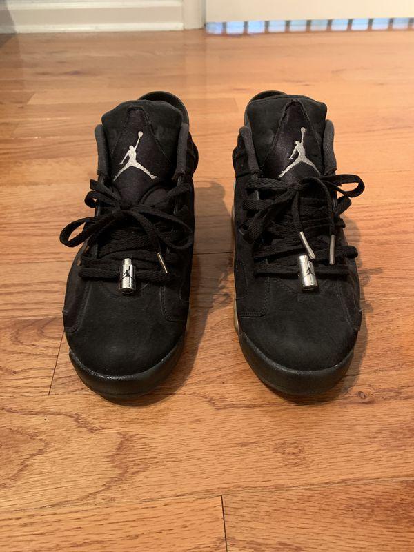 Chrome Jordan Retro 6s