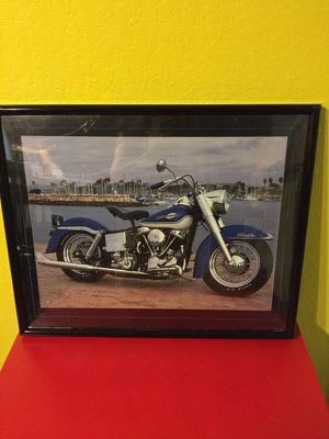 Harley Davidson Motorcycle Picture for Sale in Austin, TX