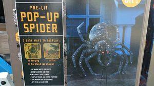 Pre-Lit Pop-Up Spider for Sale in Garden Grove, CA