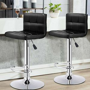 "New in box $40 each barstool bar counter height adjustable 24"" to 33"" high chair stool kitchen counter furniture for Sale in Whittier, CA"