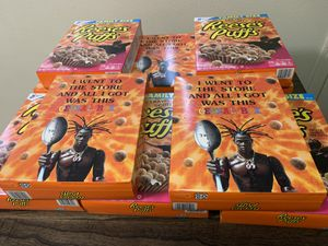 Travis Scott Reese's puffs cereal 10 box for 250 or (Best offer) also sell individually for Sale in Chino, CA