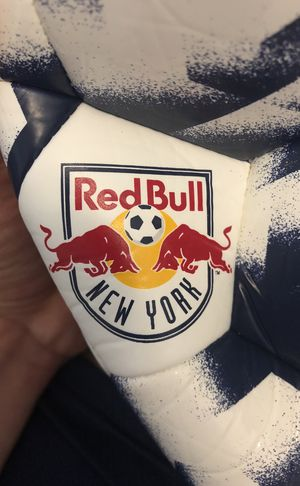 Adidas size 5 soccer ball red bulls MLS for Sale in Miami, FL