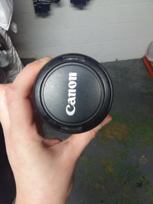 Cannon camera lens for Sale in Columbus, OH