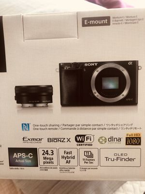 Sony Camera A6000 for Sale in Vallejo, CA