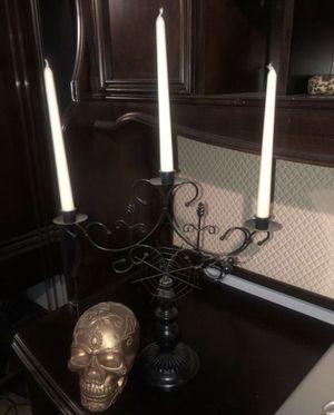Candelabra & skull home decor for Sale in Perris, CA