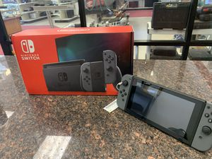 Nintendo Switch Console with box for Sale in Pflugerville, TX