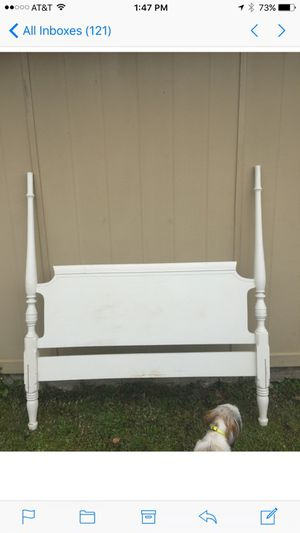 Vintage Double/Full Sized Wooden Bed Frame for Sale in Long Beach, MS
