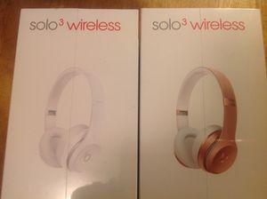1 Brand New beats 3 Wireless Headphones for Sale in Windsor, CT