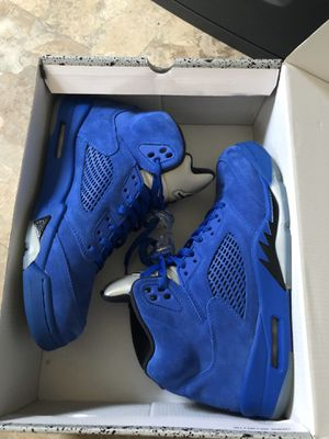 Jordan 5 Blue Suede for Sale in The Bronx, NY