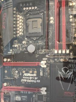 Asrock Fatal1ty Z170 Gaming K6 for Sale in Tallahassee,  FL