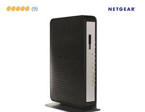 Netgear CG3000Dv2 N450 Wi-Fi Docsis 3.0 Cable Modem for Sale in Cypress, TX