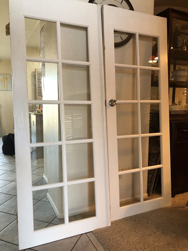 Indoor French Doors OBO
