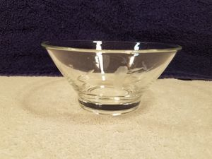 Princess house - etched crystal - candy dish - collectable vintage glass for Sale in Las Vegas, NV