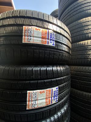 Full set of 265/45/20 pirelli Scorpion for sale LIKE NEW!! for Sale in Beaumont, CA