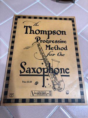 The Thompson progressive method for the saxophone for Sale in La Habra, CA