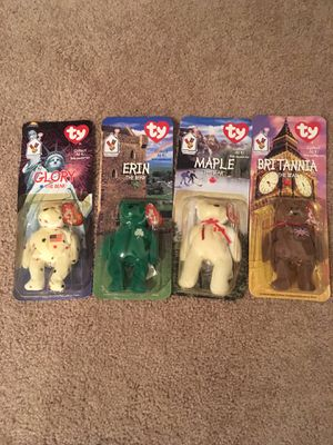 1996 McDonald's collectibleTy beanie baby bears for Sale in Hillsboro, OR