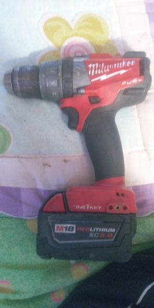 Milwaukee fuel 18v hammer drill for Sale in Houston, TX