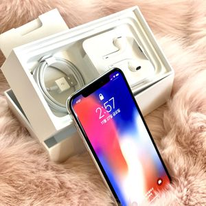 Selling IPhone X, 256GB, White Color for Sale in Irvine, CA