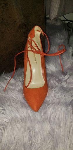 Nine West Ebba Women Red Orange Pumps for Sale in Arlington,  VA