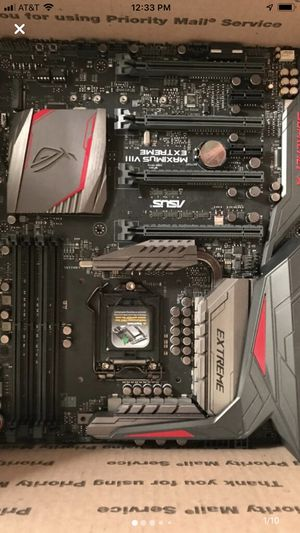 Asus Maximus extreme Vlll z170 for Sale in Santa Cruz, CA