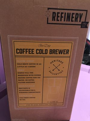 Cold Brew Glass Carafe NEVER USED in ORIGINAL PACKAGE for Sale in Delray Beach, FL