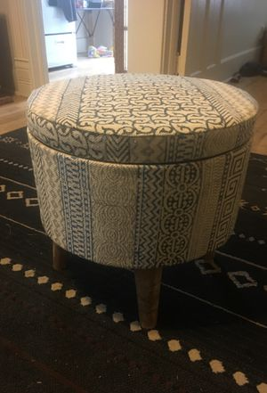 Ottoman with Storage for Sale in Denver, CO