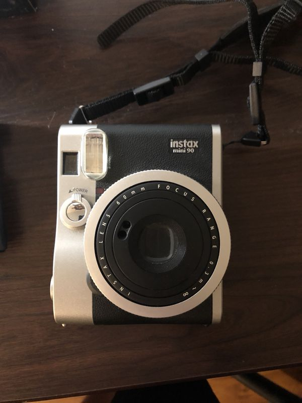 Instax mini 90 Neo Classic Instant Camera and film