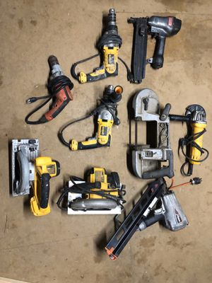 Dewalt, Paslode 9 Tool Lot (All Work Perfect) for Sale in CMBRLND FRNCE, TN
