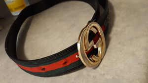 Gucci belt made in Italy size 50/125 for Sale in Fairfield, CA