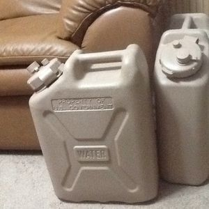 2 Military water containers for Sale in Rowland, NC