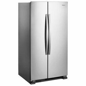 Whirlpool 25CuFt Large Side-by-Side Refrigerator with Adaptive Defrost and Humidity-Controlled Crispers for Sale in Honolulu, HI
