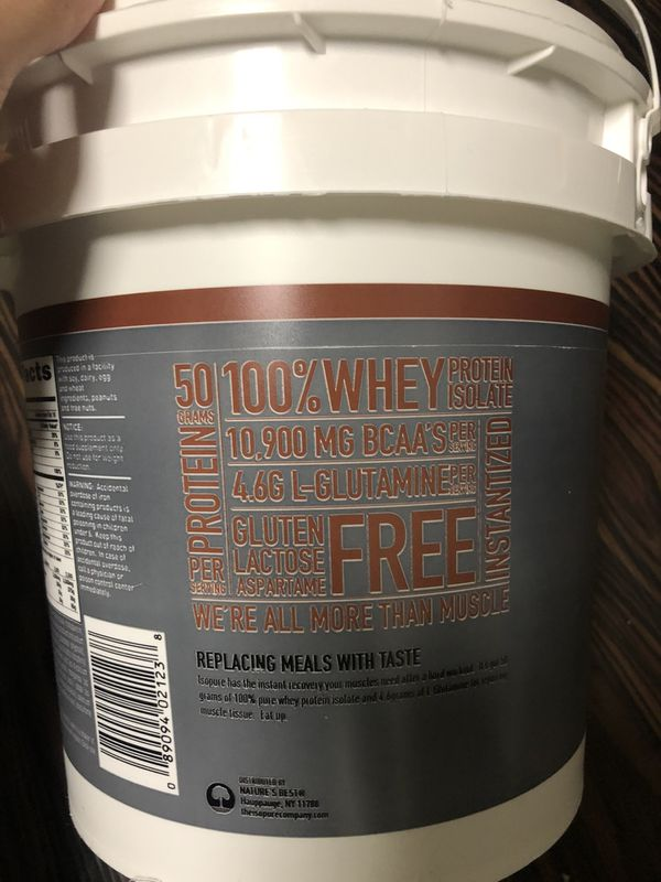 Isopure protein powder dutch chocolate 8.8 oz