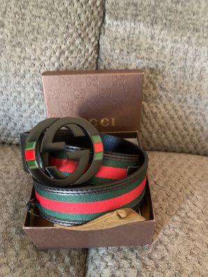 Gucci belt size 110 European for Sale in San Diego, CA