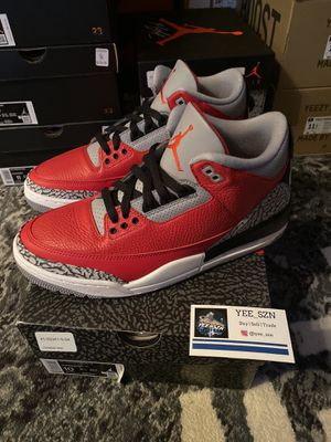 Nike air Jordan 3 fire red size 10 ds $240 for Sale in Bellevue, WA