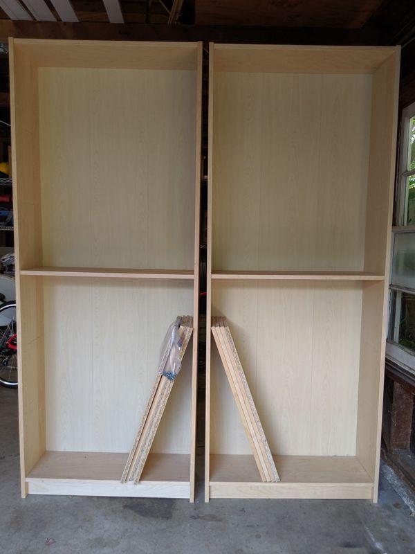 Set of Two IKEA Bookshelves ($39 ea.)