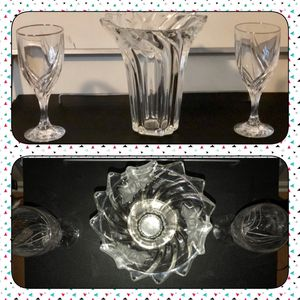 Crystal vases and glasses for Sale in Appomattox, VA