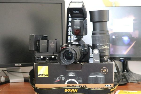 NIKON D3200 VIDEO AND PHOTO
